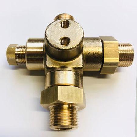 Bild für Kategorie Integration des Sicherheitsventils, des Rückschlagventils, des Gasfilters im Anschlusselement